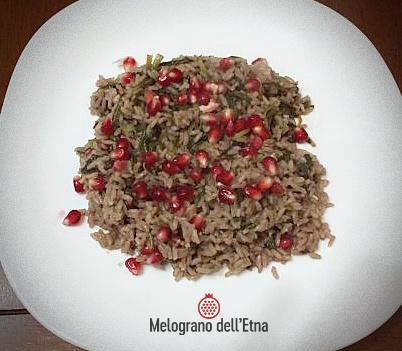 Succo di Melograno Etna in cucina - Melograno dell\'Etna