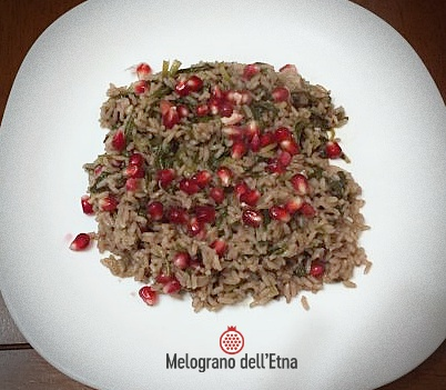 Succo di Melograno Etna in cucina